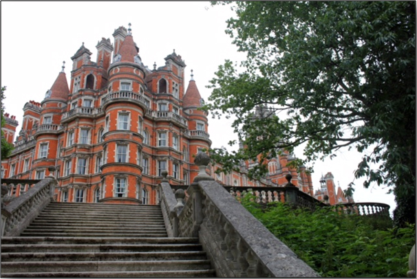 The Founder's Building - Royal Holloway: Egham, Surrey.