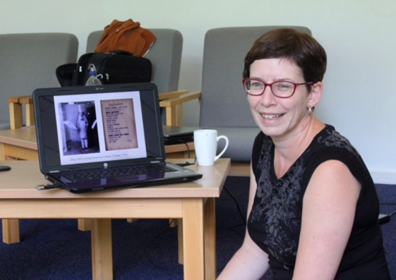 Dr. Ruth Hemus – Librettist and Dada expert.