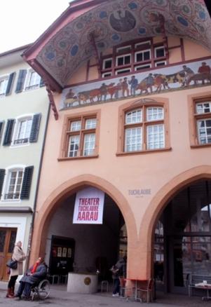 Theater Tuchlaube – Aarau.